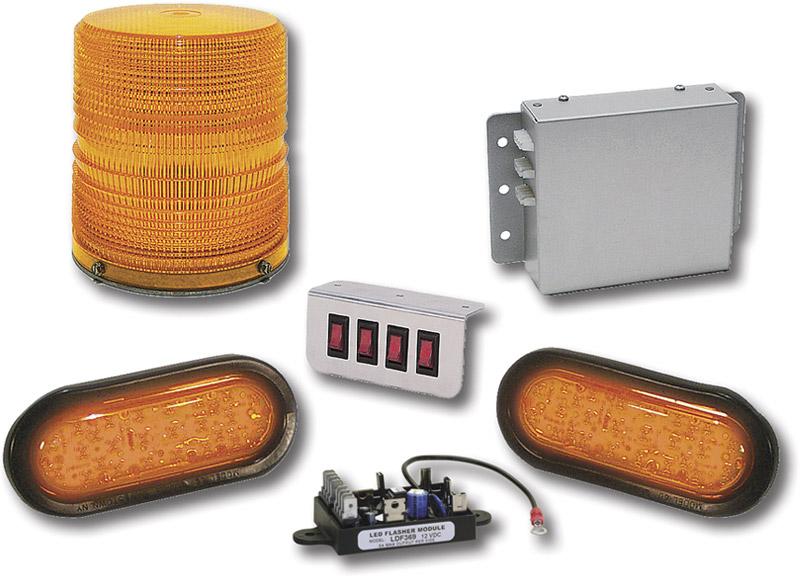led strobe warning lights. Black Bedroom Furniture Sets. Home Design Ideas